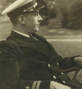 William Wilson White in Navy Uniform in WWII