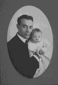 Dr. Joseph Sailer with One Baby