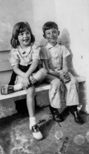 Sally Deaver and Her Cousin Bill White